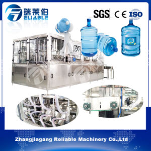 Automatic 5 Gallon Barrel Drinking Water Bottling Filling Machine pictures & photos