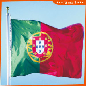 Custom Waterproof and Sunproof National Flag Portugal National Flag Model No.: NF-055 pictures & photos