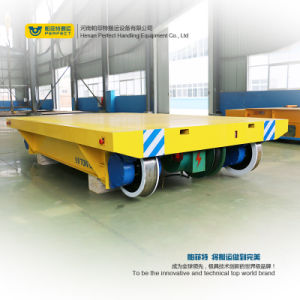 Low Voltage Rail Powered Industrial Transfer Car pictures & photos