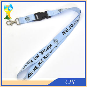 China Single Printed Custom Polyester Lanyard for Sale pictures & photos
