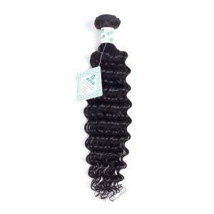 100% Virgin Remy Hair Extension Brazilian Human Hair Deep Wave pictures & photos