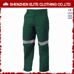 Mens Safety Cotton Drill Reflective Work Trousers pictures & photos