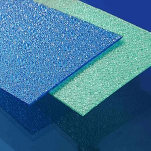 Powerful Building Material Big Diamond Polycarbonate Embossed Sheet pictures & photos