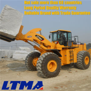 Ltma 32 Ton Wheel Forklift Loader with Chinese Engine pictures & photos