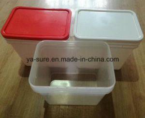 2016 New Type PP Food Grade Rectangular Plastic Bucket 25L for Food Packaging pictures & photos