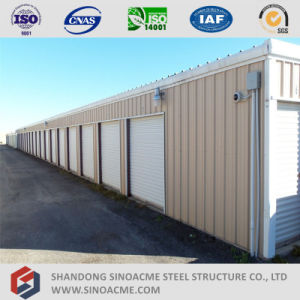Prefab Steel Frame Mini Warehouse Storage Shed pictures & photos