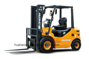 2.5Ton Diesel Forklift Truck with Japanese Engine (HH25Z-W1-D, side shifter) pictures & photos