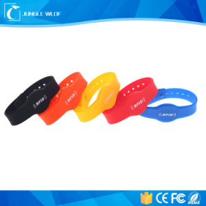 Access Control Silicone RFID Wristbands for Events pictures & photos