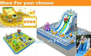 Giant Inflatable playground obstacle with Ocean balls pictures & photos