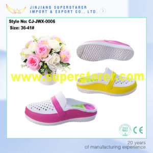 Breathable Hole Colorful Women Sandal Clog, Cheap EVA Clog Sandals Shoe for Women pictures & photos