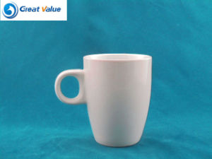 10oz Top Quality Promotional Sublimation Ceramic Mug with Round Handle pictures & photos