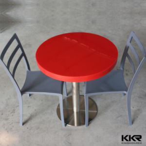 Solid Surface Fast Food Table Top for Restaurant Furniture pictures & photos