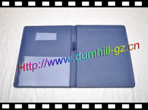 A5 PU Leather Holder with Paper Pad pictures & photos
