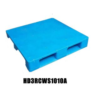1000X1000mm 3 Runners (skids) Food Grade Plastic Pallet for Sale pictures & photos