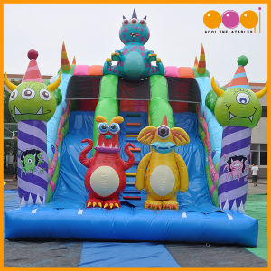 Outdoor Monster Inflatable Toy Slide for Kids (AQ01757) pictures & photos