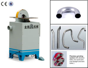 Abrasive Belt Bent Tube Grinding Machine for Angle Pipe pictures & photos