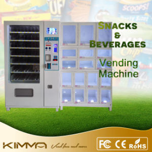 70 Selections Combo Vending Machine with Stand pictures & photos