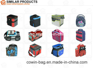 High Quality Two Departments Style Lunch Picnic Bottle Cooler Bag pictures & photos