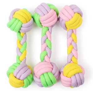 Durable Pet Dog Rope Dumbell Toys for Chews and Playing pictures & photos