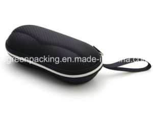 High Quality Black Sunglasses EVA Case with String (EZ11) pictures & photos