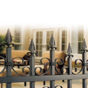 Fence for Villas, Garden Fence Decoration, White Picket Fence pictures & photos