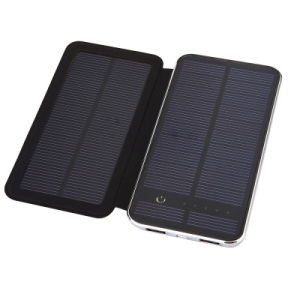 5V Double USB Output 10000mAh Battery Solar Power Bank pictures & photos