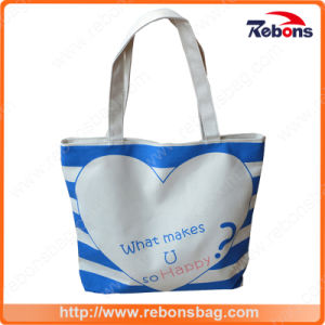 Perforated Customized Neoprene Women Lady fashion Handbag with Heart Printing pictures & photos