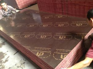 Brown Film Faced Plywood, Hardwood Core, WBP Glue, Size 1220X2440X15mmm pictures & photos