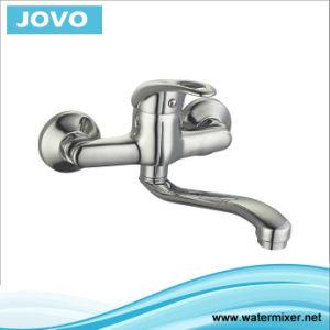 Zinc Body Single Handle Kitchen Mixer&Faucet Jv73304 pictures & photos