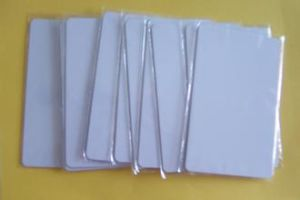 125kHz RFID Card 13.56MHz Proximity Card Blank Thin Card pictures & photos