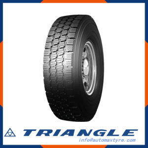 Trd99 8.25r16lt Triangle New Pattern All Steel Radial Tyre Winter Snow Ice Truck Tyre pictures & photos