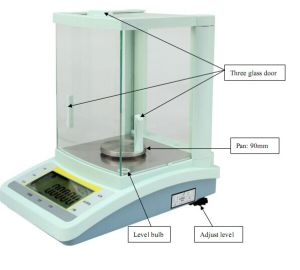 0.0001g Digital Laboratory Analytical Scale pictures & photos