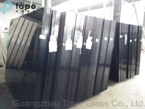 4mm-10mm Hot Selling Black Building Glass / Construction Glass (C-B) pictures & photos