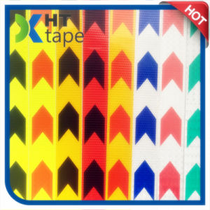 Arrow Sign Car Yellow and Red Reflective Tape pictures & photos