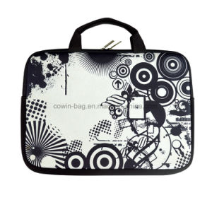 """17"""" Waterproof and Shockproof Neoprene Laptop Sleeve with Handle Strap pictures & photos"""