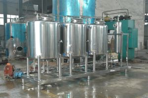 Stainless Steel Water Cream Bulk Storage Tank pictures & photos