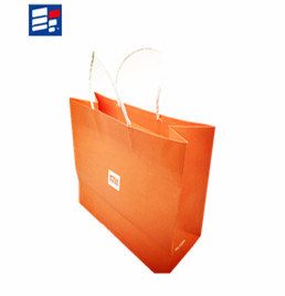 Custom Low Cost White Kraft Craft Paper Bag for Gift pictures & photos