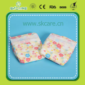 Breathable High Quality Baby Diaper with Leak Guards pictures & photos
