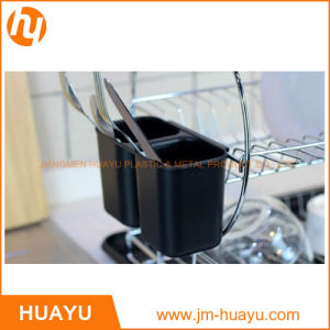 Chromed and Black Wire Rack Shelving Light Heavy Duty Cheap Coffee Holder Rack Caster Shelf pictures & photos