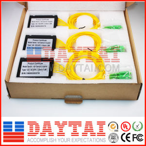 Single Mode Fiber Optical ABS Box Type 1X8 Coupler pictures & photos