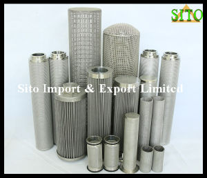 SUS304 316 Stainless Steel Wire Mesh Filters pictures & photos