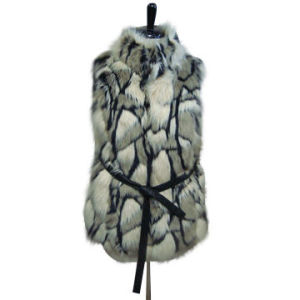 Ladies Fashion Fake Fur Vest Ffm0231 pictures & photos