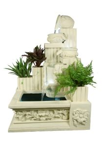 Sandstone Polyresin Material Water Spray Fountain pictures & photos
