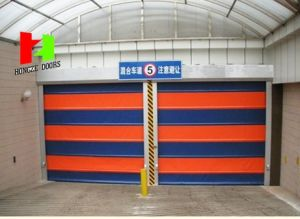 Strength and Anti-Shock High Speed Rapid Rolling Stacking Doors (Hz-FC0431) pictures & photos