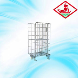 Folding Roll Container/Carts with Good Design pictures & photos
