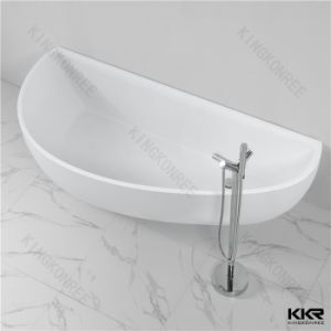 Sanitary Ware Freestanding Solid Surface Shower Bath pictures & photos