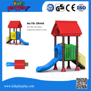2017 Newest Kids Plastic Slides Outdoor Playground Sets for Sale pictures & photos