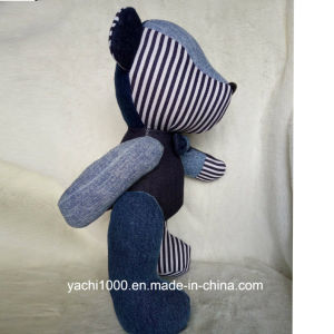 New Design Jointed Bear Made of Denim pictures & photos