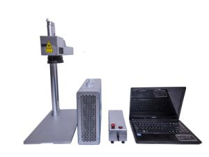 Portable 20W Laser Marking Machine for Metal and Nometal and Plastic pictures & photos