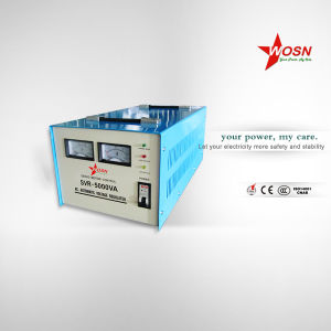 Automatic Servo Motor SVC 5000va Voltage Regulator